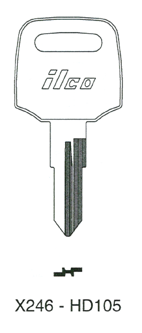 1962-74 Honda HD10 Key Codes T9222-T999
