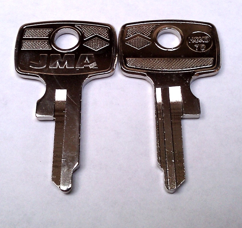 1962-74 Honda HD13 Key Codes T8222-T8999