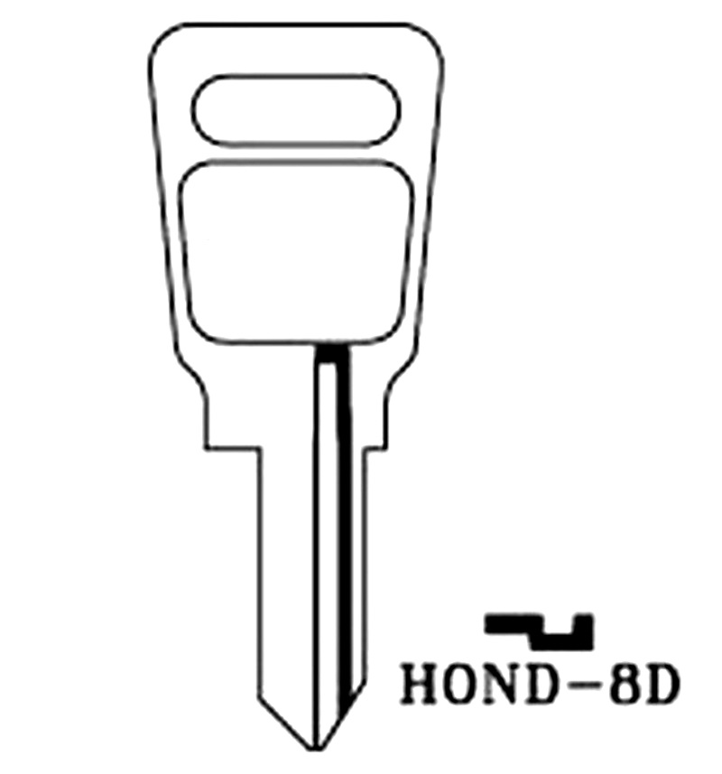 1962-74 Honda HD66 Key Codes H4046-H5650